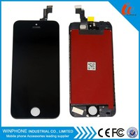 Cell phone accessories china touch screen digitizer glass panel lcd for iphone 5