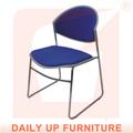 respirável assento ergonomicamente almofada cadeira de recepção com enchimento de espuma de estofados cadeira de salão