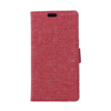 Private customize phone jeans pattern PU leather case With card slot for Alcatel IDOL3/4.7,wallet leather phone case cover