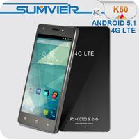 OEM Shenzhen factory price tempered glass smartphone 5.5 4g lte K50 phone