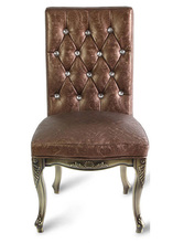 European American style luxury stainess steel dining chair