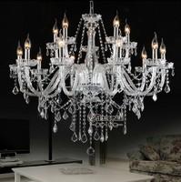 Home Decorative Lamp Crystal Chandelier Light Fitting Dining Room Pendant Light MDS01 L10+5