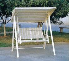 patio swing chair with fabric hanging chair