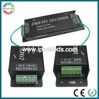 DC5V-24V DMX512 LED decoder,micro control unit led dimmer,professional dmx led controller
