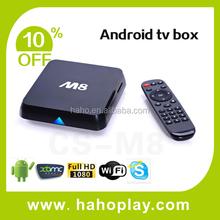 Enjoy Tv Amlogic M8 Quad Core Android 4.4 Box Atv1800 Amlogic Google Android Tv Mini Pc Xbmc Smart Tv Box M8
