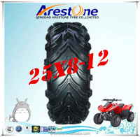 Arestone All Terrain Vehicel Tubeless ATV Tire 25x8-12