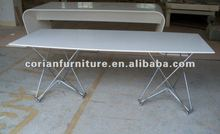 High quality Corian new design dinning table RN-024