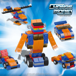 Trans Robot Toy Racing Car 5 in 1 Of Change More Series Building Blocks Toys