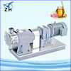 gear pump animation biogas comressor