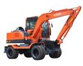 Pequeña rueda excavadora 75W-9
