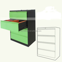 Customized color ikea 4 drawer lateral file cabinet top 10 cabinet manufacturers