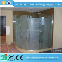 Atacado de alta qualidade de vidro do banheiro contador top