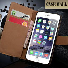 Business Wallet For iPhone plus Case, For iPhone 6+ wallet Leather Case