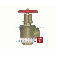 Right angle pressure restricting valve
