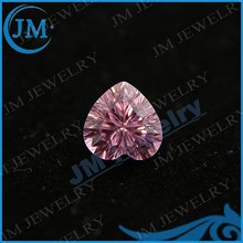 JM Special Cut Pink Heart Shaped Cubic Zirconia Gems
