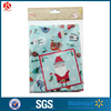 LDPE giant plastic soft material christmas party bike gift bag