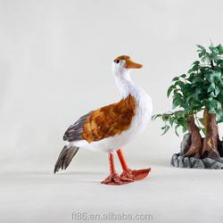 Handmade quality life like bird animal figurines artificial birds for crafts