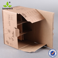 Recycled corrugated cardboard packaging box wholesale