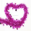 Oropel navidad guirnalda indio de la flor guirnalda guirnalda de la cinta