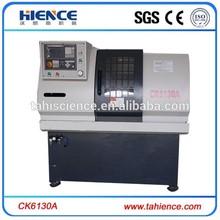 Ck6130a pequeño torno para metal de precisión cnc torno piezas de la máquina