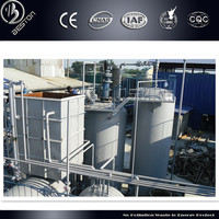 engine oil from waste ,automatically high tech waste lube oil recycling equipment