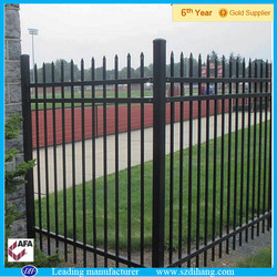 Leading steel fence manufacturer for ornamental fence, residential fence