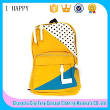 Yiwu Popular Canvas School Backpack for Teenager Students
