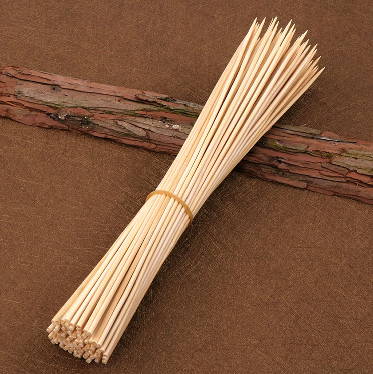 Bamboo Skewers Barbecue BBQ Bamboo Sticks 6, 8,10&12