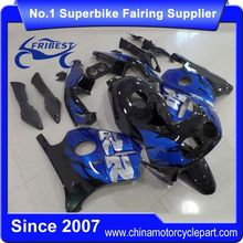 FFKHD028 Motorcycle Fairing For CBR250RR MC22 1990-1999 Blue Black With Tank Cover