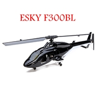 for ESKY F300BL 2.4G 4CH 3 Axis Gyro Flybarless RC Helicopter Mode 2