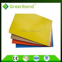Greenbond signage aluminum cladding panel for exterior building decoration