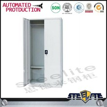 Two Door Storage Cabinets Simple Grey/White Metal hpl locker
