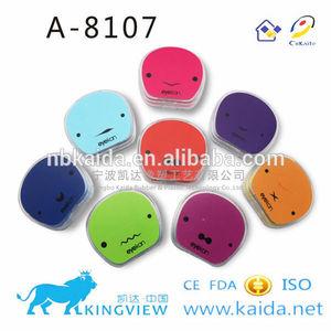 A-8107 black sclera contact lens case freshlook box