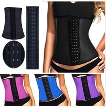 Sport Latex 9 Steel boned Cheap Wholesale Waist Training Corsets and Waist Cinchers