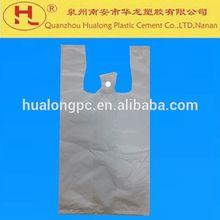 T - camisa de bolsas de envasado de alimentos bolsas de plástico bolsas de la compra