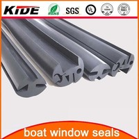 epdm rubber black marine window seals
