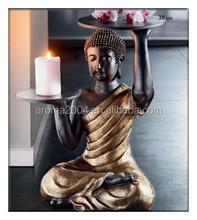 decorative rack art shelf resin buddha statues