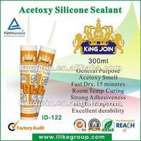 [ Kingjoin Brand ] Fast Dry Acetoxy Silicone Sealants-280ml