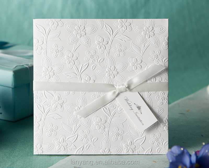 Embossed Invitation Cards Personalized Customized Printing – Embossed Invitation Cards