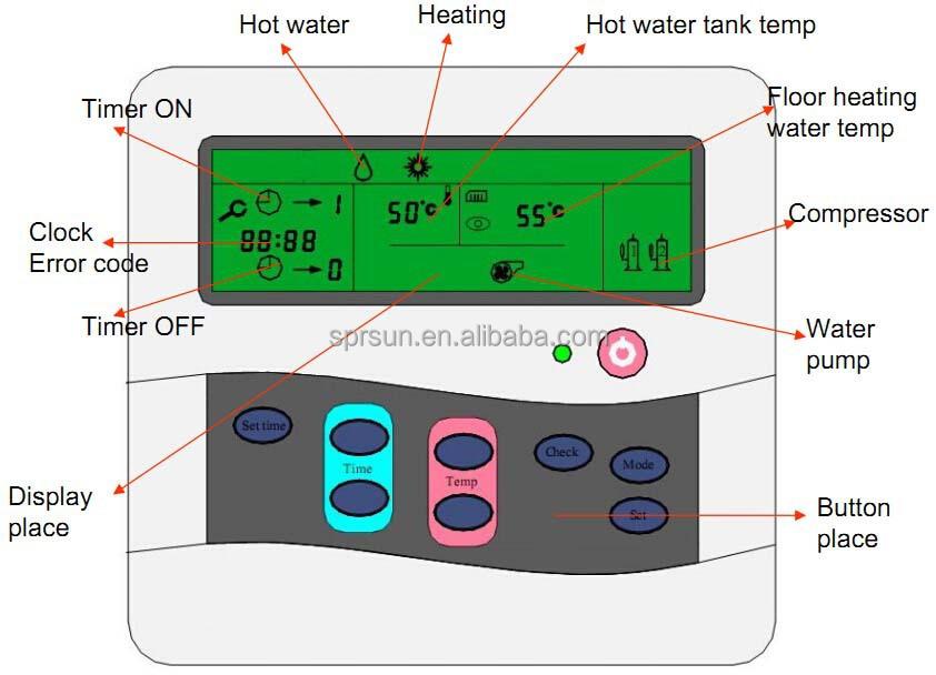 Pompe chaleur g othermique pour syst me de chauffage au sol et d 39 eau ch - Temperature reservoir eau chaude ...
