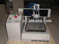 Hot sale !hobby low cost CE desktop mini metal cnc router milling machine 3030