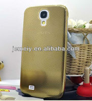 For Samsung galaxy S4 grid metal case mobile phone case