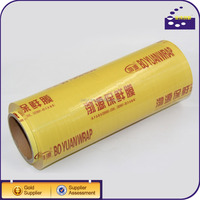 clear type pvc food grade stretch wrap film for food wrapping