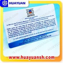 Petg luggae tarjeta de etiqueta RFID tarjeta para el ocio área