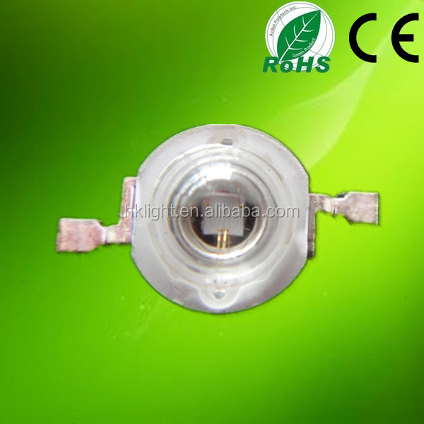 factory price epileds 1w 3w 495nm 500nm cyan high power led chip