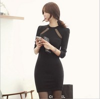D80354F 2015 slim fit lady sexy evening dress