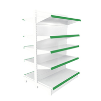 Double side supermarket display shelf high quality cheap price