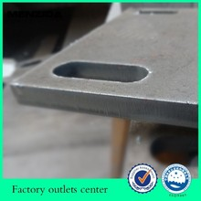 customized CNC working cut out 20mm steel plate
