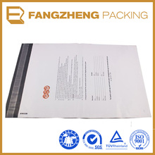 Gravure Printing Surface Handling and Self Adhesive Seal Sealing & Handle grey mailing bags