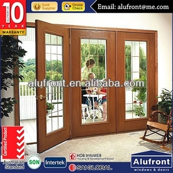 High Quality Wood Aluminum Composite Door